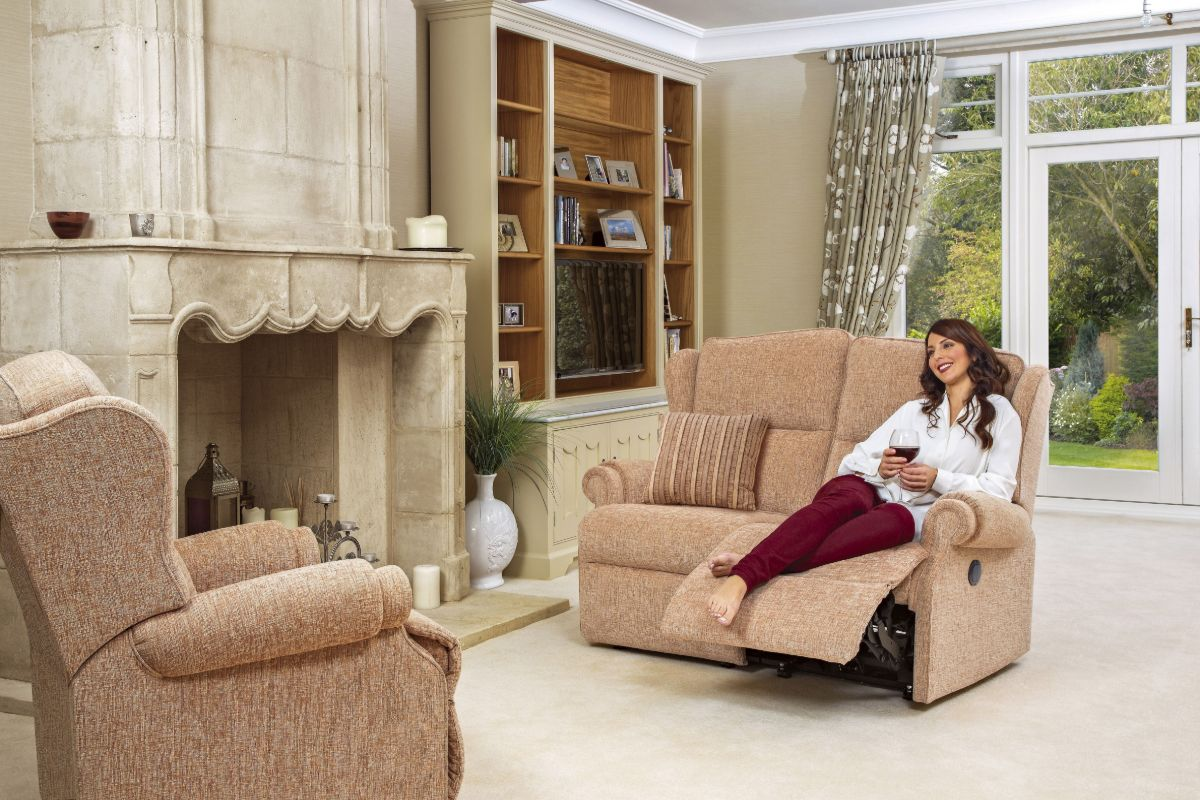 Claremont Standard Reclining 2-Seater Settee