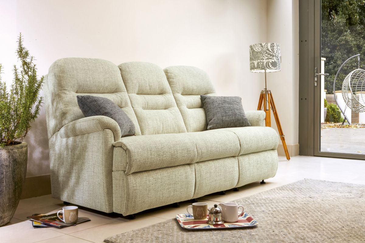 Keswick Small 3-Seater Fixed Settee